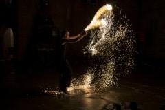Feuershow mit Fabian Rieger